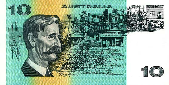 1974 PHILLIPS & WHEELER $10 NOTE