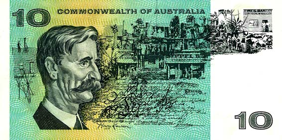 1966 COOMBS & WILSON $10 NOTE