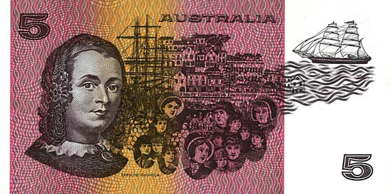 1974 PHILLIPS & WHEELER $5 NOTE