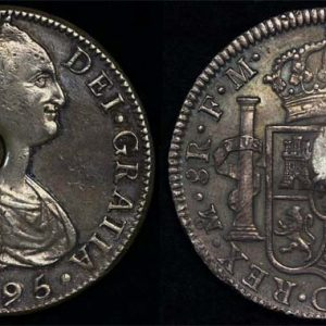 1795 GREAT BRITAIN KGIII EMERGENCY ISSUE DOLLAR