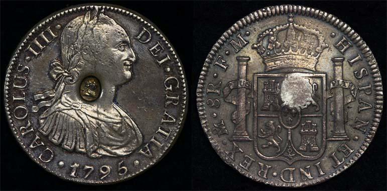 1795 GREAT BRITAIN KGIII EMERGENCY ISSUE DOLLAR