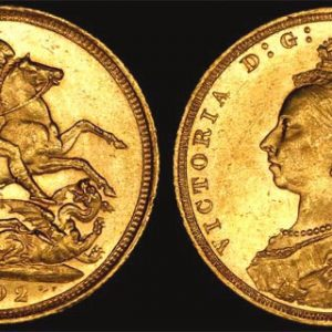 1892 SYDNEY MINT JUBILEE HEAD SOVEREIGN