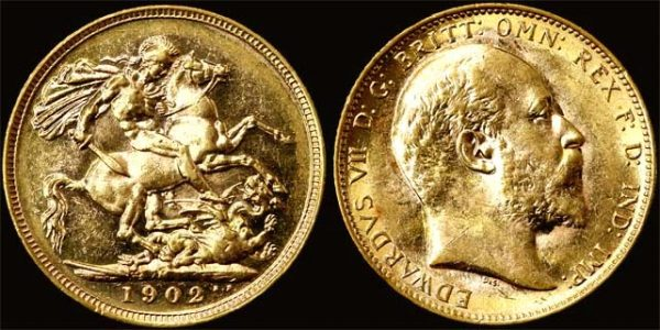 1902 MELBOURNE MINT K.E. VII SOVEREIGN