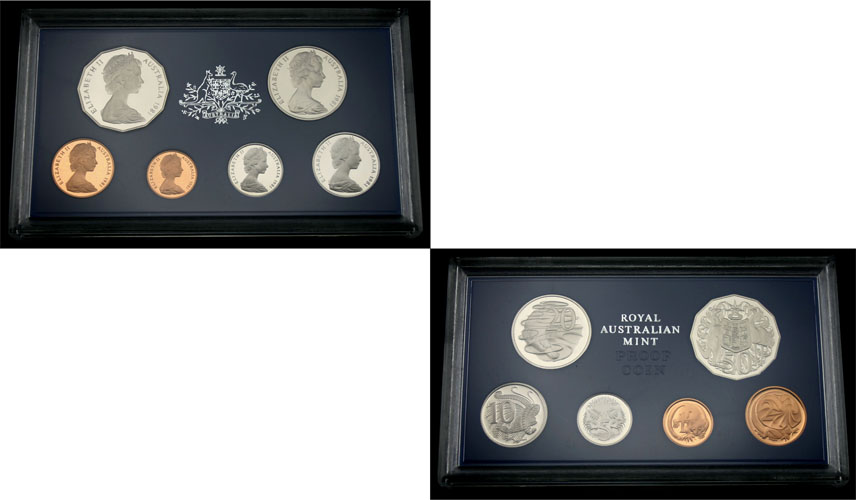 1981 ROYAL AUSTRALIA MINT PROOF SET