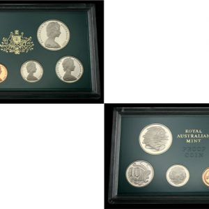 1982 ROYAL AUSTRALIA MINT PROOF SET