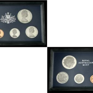 1984 ROYAL AUSTRALIA MINT PROOF SET