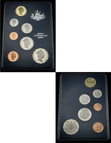 1985 ROYAL AUSTRALIA MINT PROOF SET