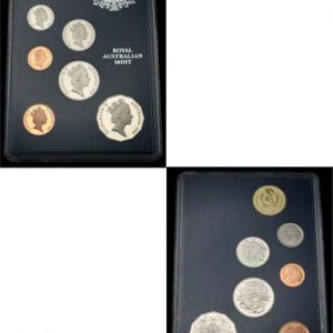 "1986 ROYAL AUST MINT ""INTERNATIONAL YEAR OF PEACE"" PROOF SET"