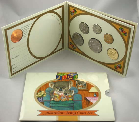 "2003 ""KOALA"" BABY UNCIRCULATED COIN SET"