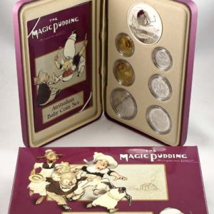 "2006 ""MAGIC PUDDING"" BABY PROOF COIN SET"