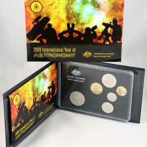 "2009 ROYAL AUSTRALIA MINT ""INT YEAR OF ASTRONOMY"" PROOF SET"