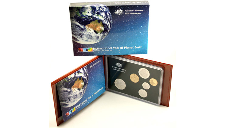 2008 INTERNATIONAL YEAR OF PLANET EARTH PROOF SET