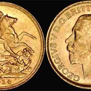 1914 SYDNEY MINT K.G. V SOVEREIGN
