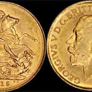 1915 SYDNEY MINT K.G. V SOVEREIGN
