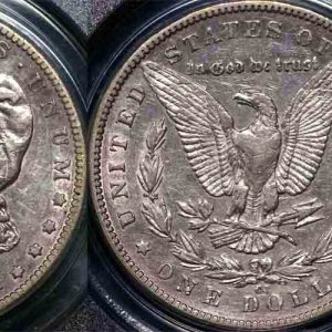 1889 CC UNITED STATES MORGAN DOLLAR  PCGS XF40