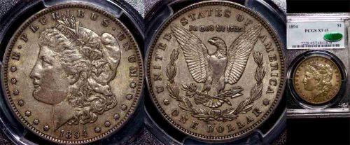 1895 UNITED STATES MORGAN DOLLAR PCGS XF45