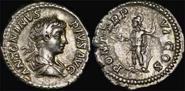 198-217 AD ANCIENT ROME -CARACALLA DENARIUS