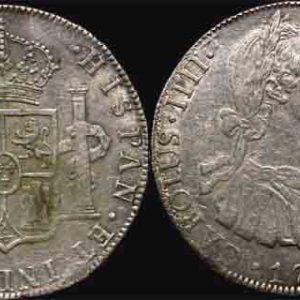 1794 PTS BOLIVIA - CHARLES IIII 8 REALES